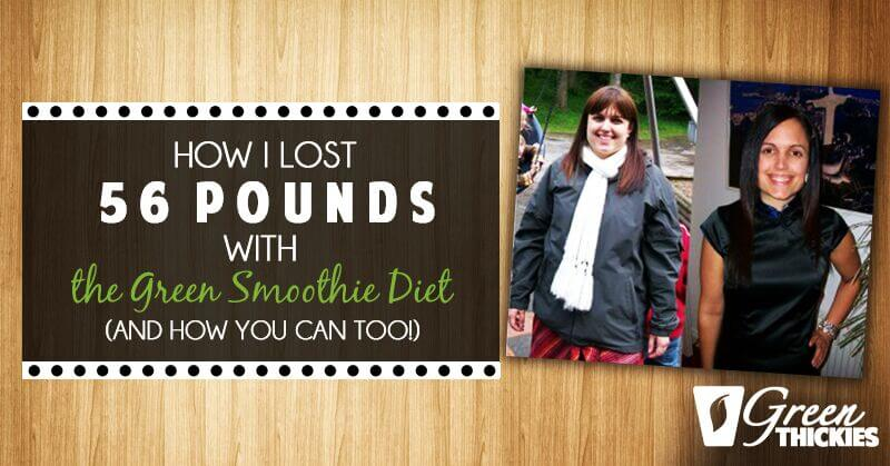 How I lost 56 Pounds with the Green Smoothie Diet and