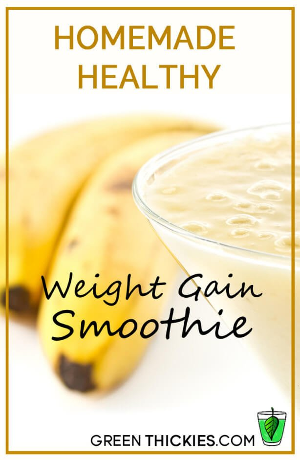 homemade healthy weight gain smoothie1 614x941