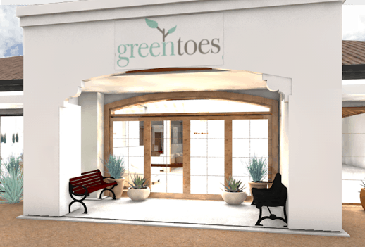 greentoes opens greentoes north new