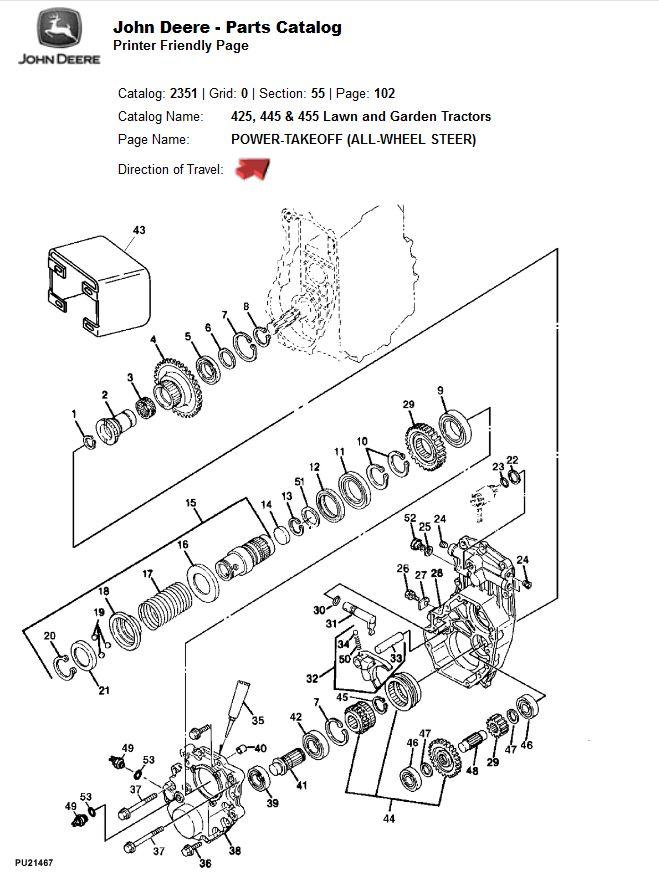John Deere 455 Wiring Diagram Database