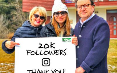 20k followers Instagram. Grazie!