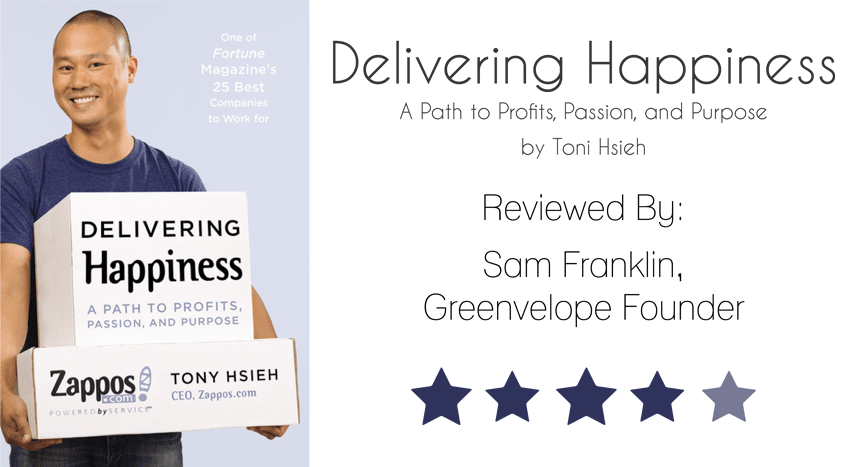Book of the Month Delivering Happiness Tony Hsieh