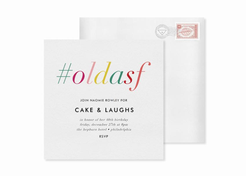 12 creative birthday party invitations