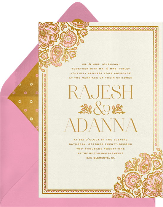 10 Intricate Indian Wedding Invitations
