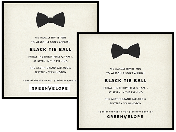 Email Online Personal Invitations That WOW! Greenvelope Com