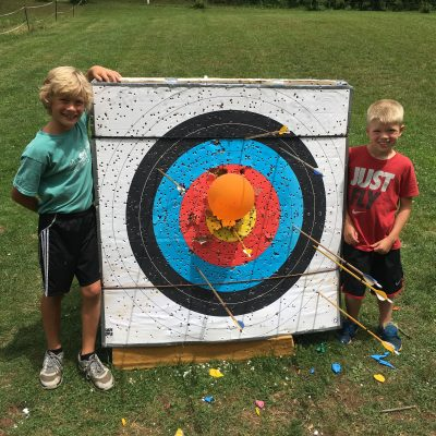 Summer Camp - Archery Target Practice