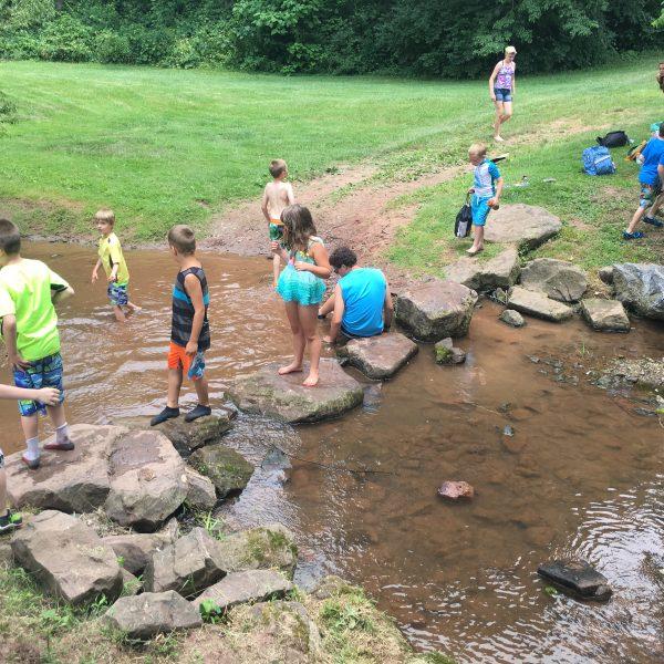 Summer Camp - Creek Fun