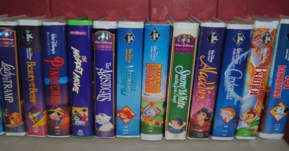 Do You Have One Of These VHS Tapes They Could Be Worth