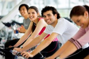 Try joining a spin class to get started cycling.