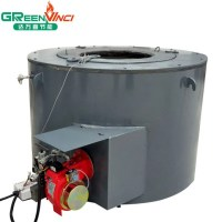 Customized Gas Fired Aluminum Melting Furnace ...