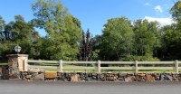 2-Rail Horse Fence   Rail Fence