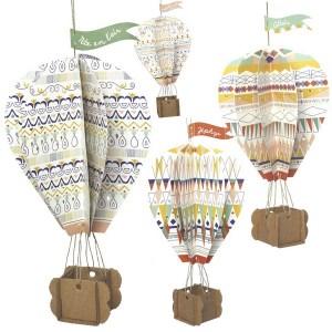 Kit mes montgolfières de rêve