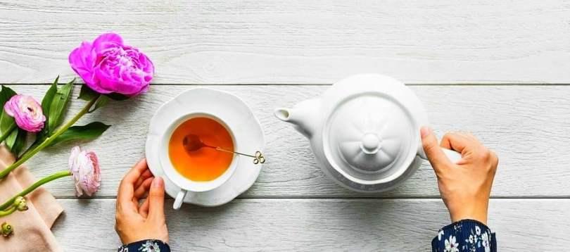 petit déjeuner thé vert
