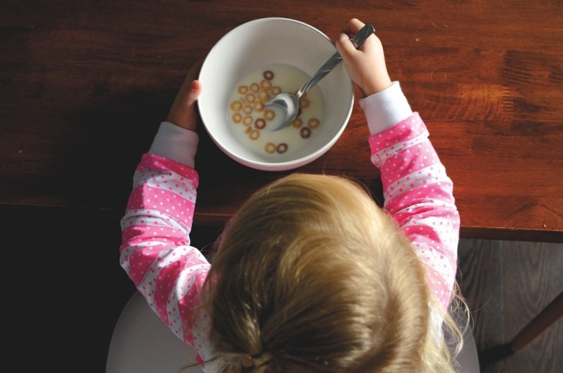 petit déjeuner enfant