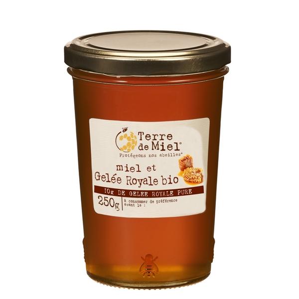 Préparation à base de miel et gelée royale