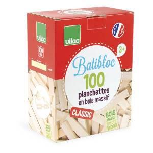 Jeux d'apprentissage : planchettes Batibloc, Vilac
