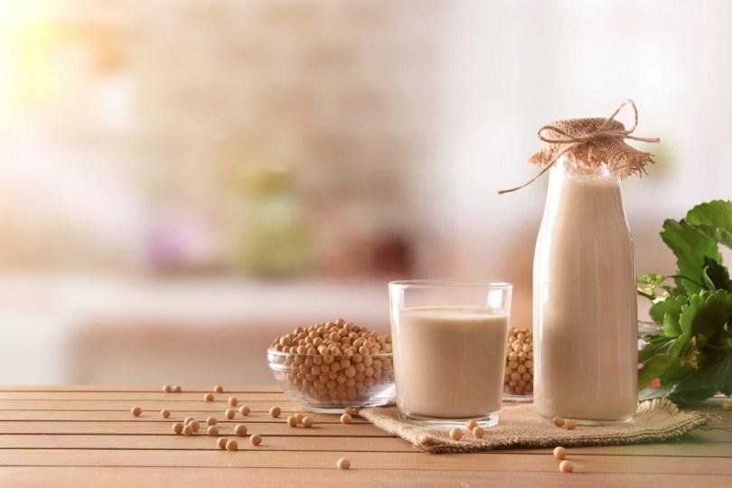 lait végétal de soja