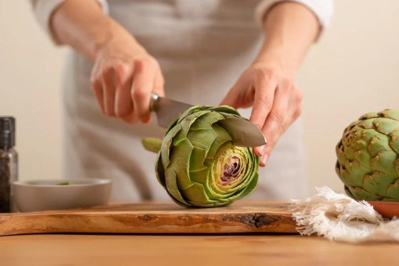 fruits et légumes frais artichaut