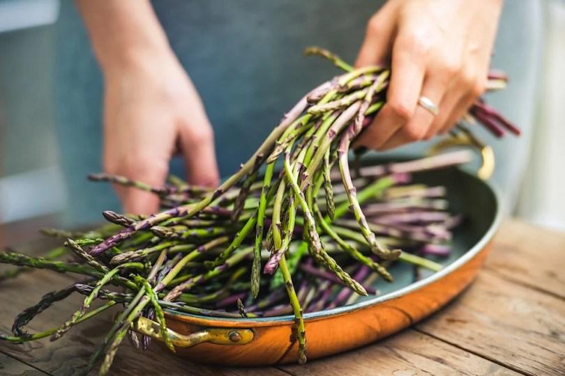 cuisiner les asperges