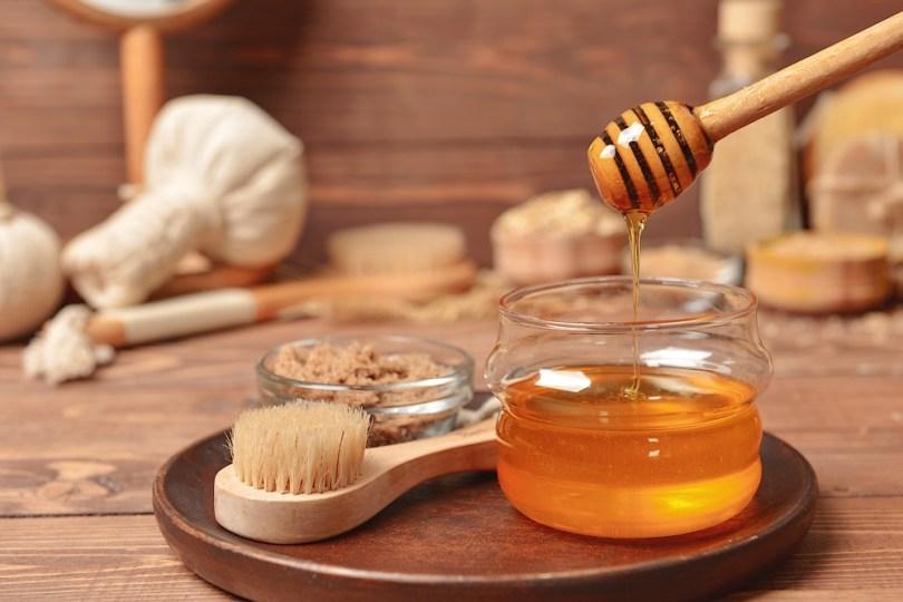 aliments cosmétiques : miel