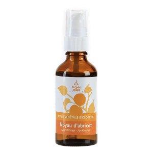 Huile végétale pour les massages : huile de noyaux d'abricot