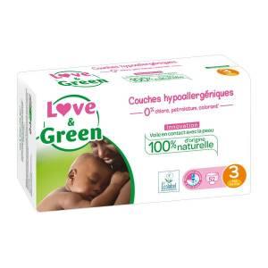 Couches bio Love & Green