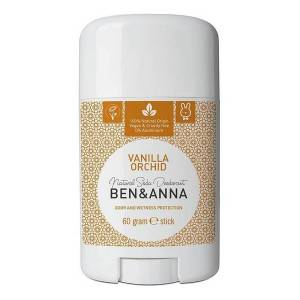 Déodorants bio : déodorant stick vanille Ben & Anna