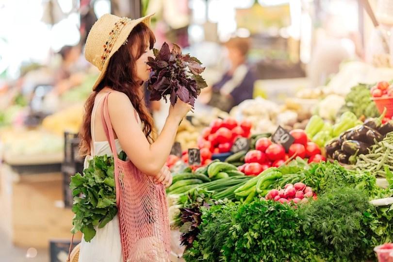 Batch-cooking végétal : les courses