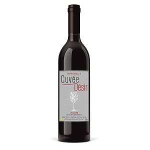 Vin vegan : Cuvée Désir Vin de la Terre de Castille