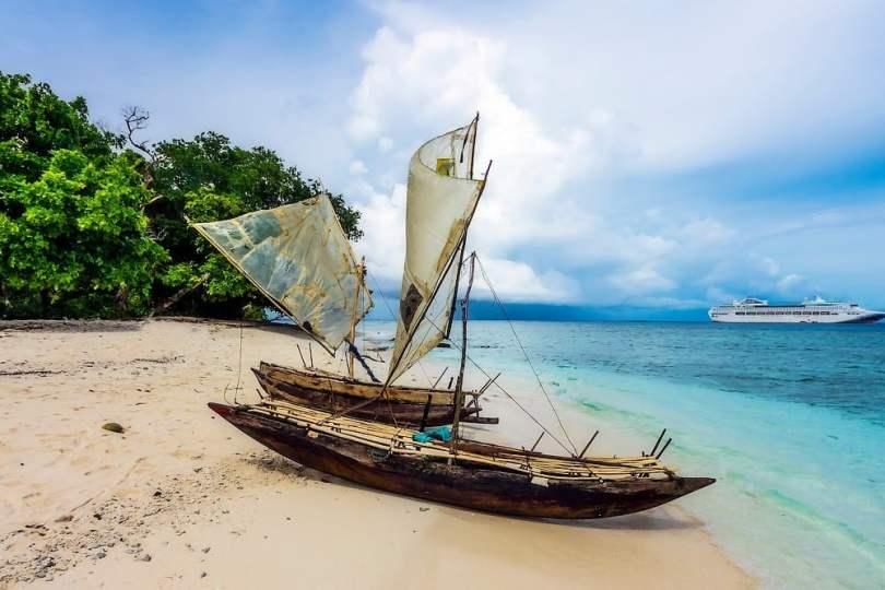 L'île de Kitava (Nouvelle Guinée), île où l' acné n'existe pas