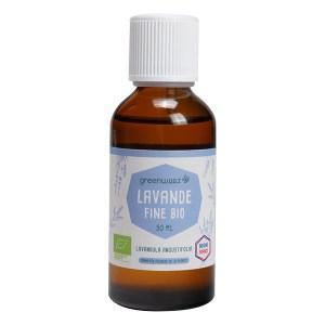 Mieux dormir : huile essentielle de lavande fine, Greenweez