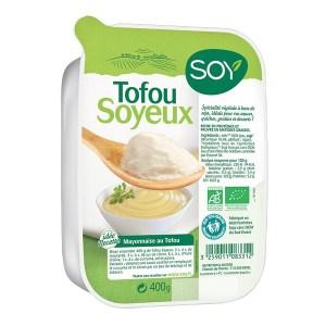 Tofu soyeux, Soy