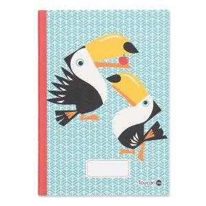 Cahier d'écriture et dessin A5 Toucan, Coq en Pâte