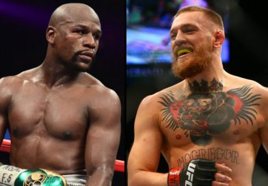 Conor McGregor and Floyd Mayweather Promote Superfight