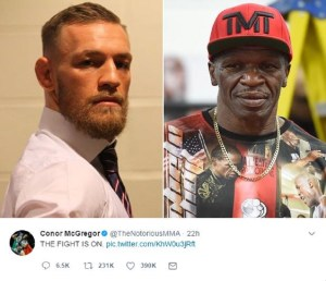 Hype Becomes Reality for McGregor and Mayweather