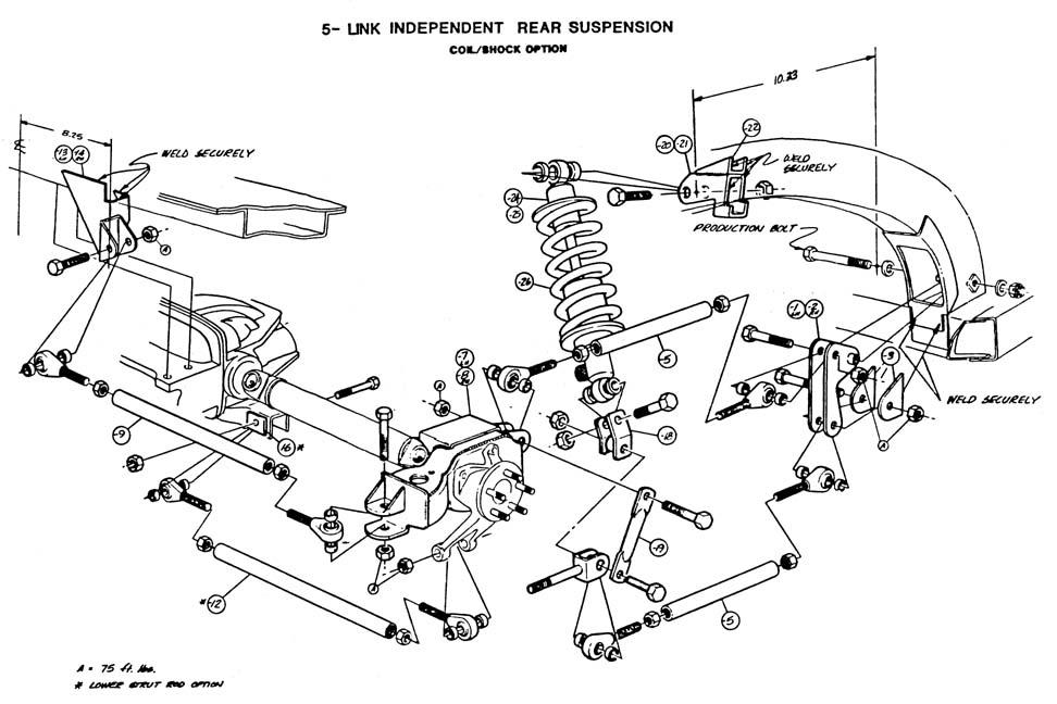 1981 Corvette Rear Control Arm Diagram, 1981, Get Free
