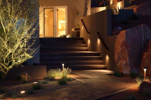 landscape lighting and outdoor lighting in greenwood in