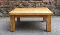 Rustic Plank Coffee Table