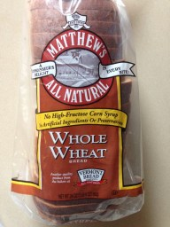 Matthew's All Natural Whole Wheat Bread