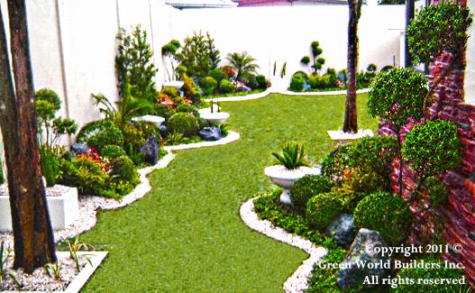philippines garden design - green