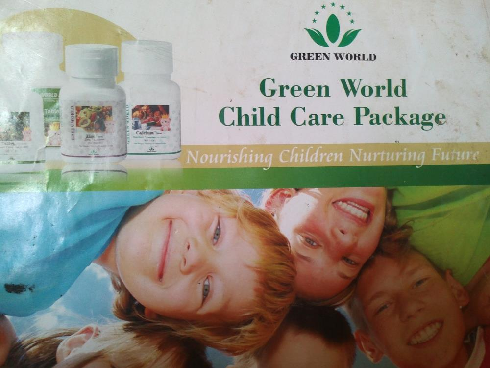 Green World Children Care Package -A Healthy Child, A Healthy Future