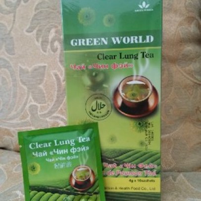 Green World Clear Lung Tea