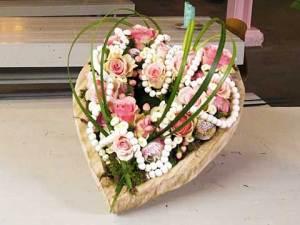 Hart vol bloemen