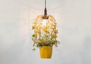 Hanglamp met hedera