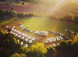 V Festival - Yurt Hire UK
