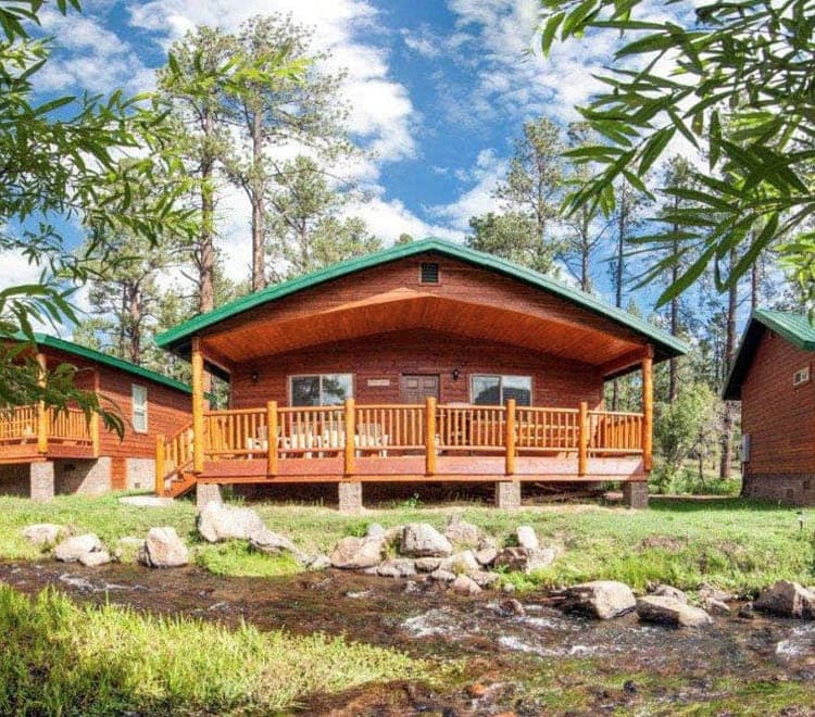 Greer AZ Cabin Rentals  Motel Rooms  Greer Lodge