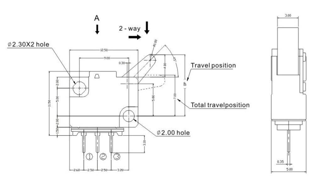 China Customized Greetech GT01 Door Lock Detector Switch