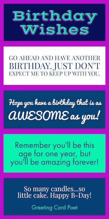 birthday wishes quotes and