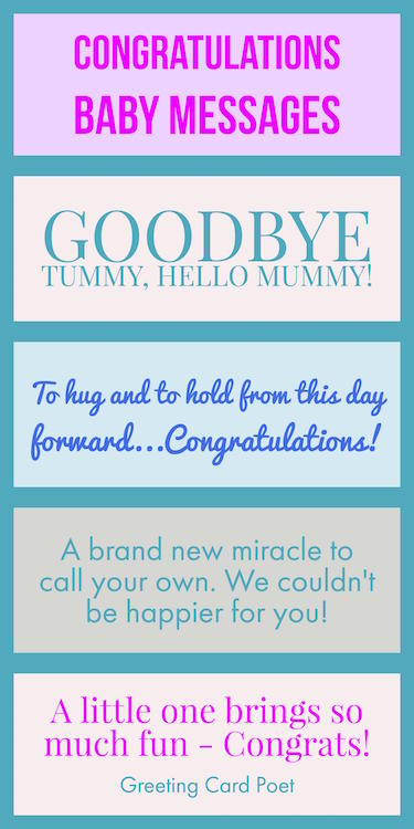congratulations baby messages quotes