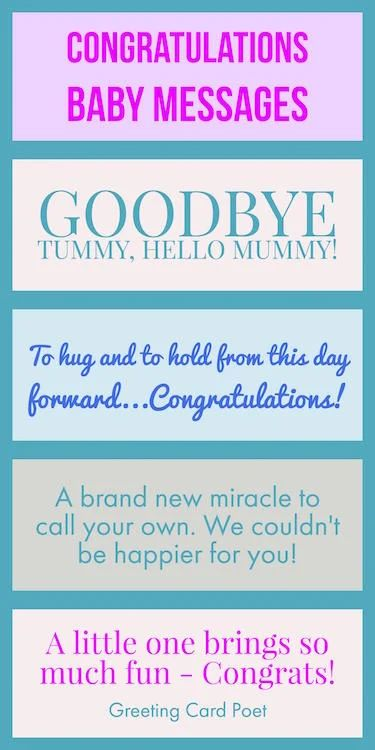 congrats new baby quotes